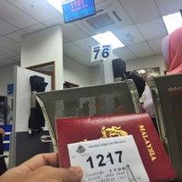 Photo taken at Jabatan Imigresen Malaysia by Yazid Y. on 7/13/2017