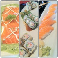 Photo taken at RA Sushi by Jessica T. on 10/14/2012