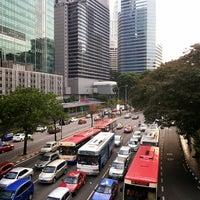 Photo taken at Intermark Pedestrian Bridge by Sean Lim 小. on 6/30/2014