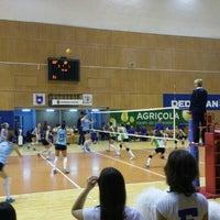 Photo taken at Sala Sporturilor by Razvan I. on 12/14/2016
