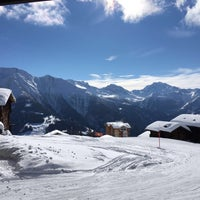 Photo taken at Riederalp by Stephan A. on 2/11/2016