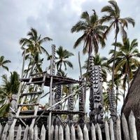Photo taken at Puʻuhonua o Hōnaunau National Historical Park by Katherine P. on 10/20/2012