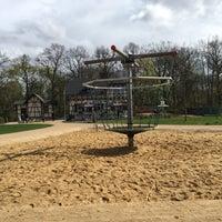 Photo taken at Spielplatz Espachbad by Kai S. on 4/16/2016