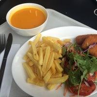 Photo taken at Studentenrestaurant by Sára M. on 10/7/2015