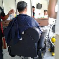 Photo taken at Lanang Barbershop by Deby A. on 7/31/2013