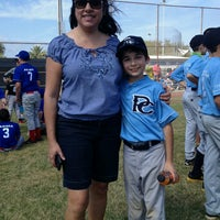 Photo taken at Palma Ceia Little League by M C. on 2/23/2013