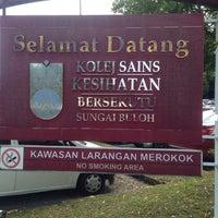 Photo taken at Kolej Sains Kesihatan Bersekutu by Arec S. on 10/28/2017