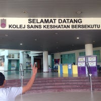 Photo taken at Kolej Sains Kesihatan Bersekutu by Arec S. on 10/26/2017