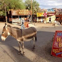 Photo taken at Oatman, AZ by Edgar Z. on 8/23/2013