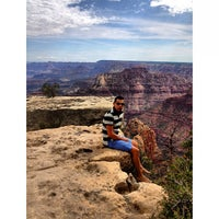 Photo taken at Grand Canyon - East Entrance by Edgar Z. on 8/22/2013