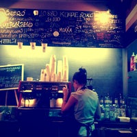 Photo taken at CoffeeBox by Daria N. on 10/29/2012