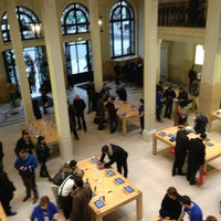 Photo taken at Apple Opéra by Michael C. on 5/21/2013