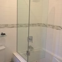 Photo taken at New York Shower Doors by Nickolas S. on 4/28/2017