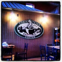 Photo taken at Cabin Fever Coffee by Dawn W. on 10/12/2012