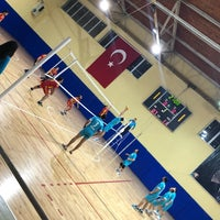 Photo taken at Corlu Kapali Spor Salonu by Cansu B. on 3/21/2018