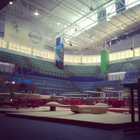 Photo taken at Complejo Nissan de Gimnasia by Ignacio I. on 5/23/2013