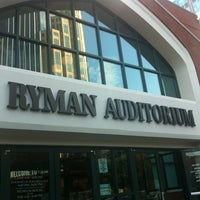 Photo taken at Ryman Auditorium by Josh S. on 6/21/2013
