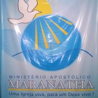 Photo taken at Ministério Apostólico Maranatha by Ádria A. on 3/16/2013