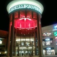 10/2/2012 tarihinde Deniz Yılmaz Y.ziyaretçi tarafından Forum Kayseri'de çekilen fotoğraf