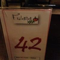 Photo taken at Fulana by Fabiano on 3/19/2013