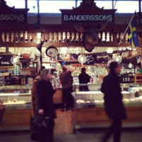 Photo taken at Östermalms Saluhall by Cristiano M. on 2/6/2013