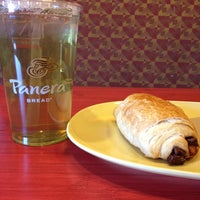 Photo taken at Panera Bread by Elora H. on 4/16/2014