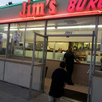 Photo taken at Jim's Burgers by Reymond S. on 10/6/2012