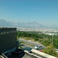 Photo taken at Colegio San Patricio (Campus Cumbres) by Adrián on 10/5/2012