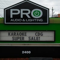 ... Photo Taken At Pro Audio And Lighting By David M. On 3/21/ ...