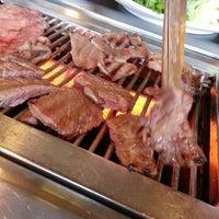 Photo taken at Sariwon Korean BBQ Restaurant 사리원 by Peter H. on 12/25/2012