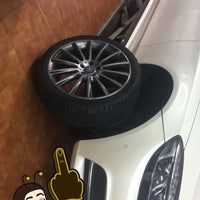 Photo taken at Hankook Main Shop by Sultan on 5/2/2018