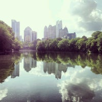 Photo taken at Piedmont Park by David D. on 4/29/2013