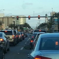 Photo taken at Federal hwy and atlantic blvd by Michael H. on 1/29/2013