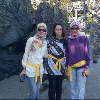 Photo taken at Batu Bolong Temple by andiahni_ikko 0. on 9/19/2013