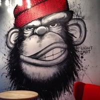 Photo taken at Monkey Grinder by Kseniya on 11/27/2013