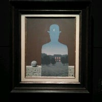 Photo taken at Magritte Museum by fabio n. on 10/30/2012