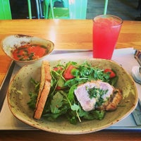 Photo taken at Tender Greens by Kim P. on 8/21/2014