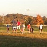 Photo taken at Lakeshore Park by Melinda K. on 10/26/2012