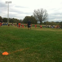 Photo taken at Lakeshore Park by Melinda K. on 10/14/2012