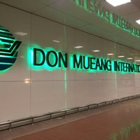 Photo taken at Don Mueang International Airport (DMK) by ukitkai k. on 7/19/2013