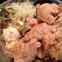 Photo taken at ジョニーのからあげ 茨木神社前 by indigoblue1973 on 8/24/2015