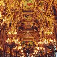 Photo taken at Garnier Opera by Nathalie R. on 7/5/2013