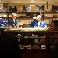 Photo taken at Teru Sushi by Hiro S. on 4/16/2013