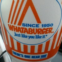 Photo taken at Whataburger by Laura Y. on 1/13/2013