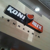 Photo taken at KoniMix by Hayanna L. on 9/22/2012