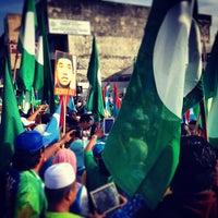 Photo taken at Dewan Serbaguna Dato' Ahmad Razali by aMie's a. on 4/20/2013