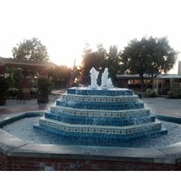 Photo taken at Fluor Fountain by Sam C. on 5/24/2013