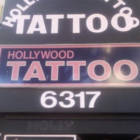 Photo taken at Hollywood Tattoo Studio by SoundCloud V. on 6/28/2013