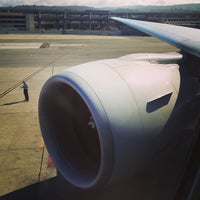 Photo taken at ANA NH7 (SFO-NRT) by Jun on 7/7/2013