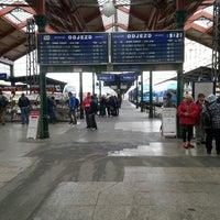 Photo taken at Prague Masaryk Railway Station by Tomáš P. on 6/26/2013